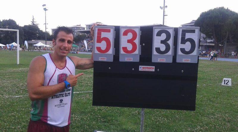 Record Italiano ai Campionati Regionali